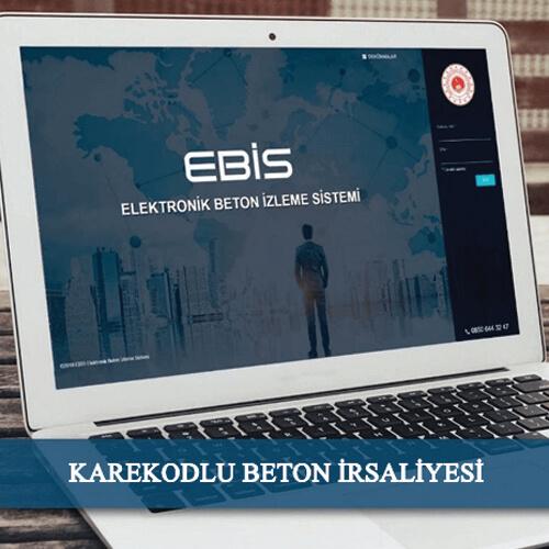 KAREKODLU BETON İRSALİYESİ
