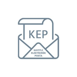 Kayıtlı Elektronik Posta (KEP) 1 YIL + 25 Kontör